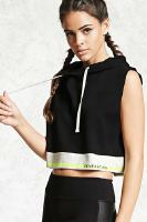 FOREVER 21 Active Real Graphic Hoodie