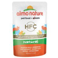 Almo nature 6 x 55 g Almo Nature HFC Pouch - Mix Thunfisch in Jelly (3 Sorten)