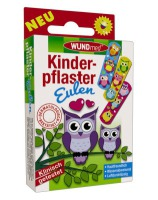Axisis GmbH Wundmed Kinderpflaster Eulen, 10 St