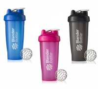 BlenderBottle Classic Color, 600 ml (Farbe: pink)