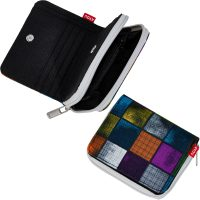 4YOU Basic Geldbörse Zipper Wallet 328 Miami Squares Farbe 328 miami squares