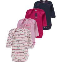 ABSORBA Baby Bodys 4er-Pack rosa/pink Mädchen Baby