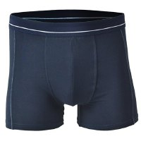 Elastic Waist Middle-Rise Solid Color Boxer Brief For Men
