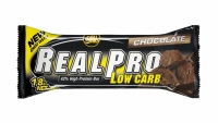 ALL STARS Fitness Products Real Pro Low Carb, 1 x 50 g Riegel (Geschmacksrichtung: Chocolate)