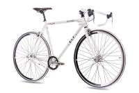 KCP 28 Zoll Rennrad Single Speed KCP FG1 ROAD Fixed Gear weiss