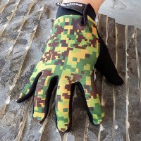 Pair of Fashionable Camouflage Pattern Outdoor Sport Gloves For Men