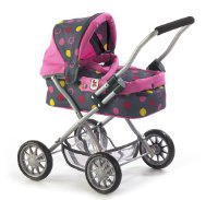 Bayer Chic 555 24 - Puppenwagen Smarty, Funny Pink (555 24)