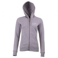 66°NORTH 66 North - Women's Logn Zipped Sweater - Hoodie Gr XS grau