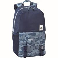 ADIDAS PERFORMANCE Classic M Graphic 2 Rucksack 46 cm - mystery blue/core Blue/white