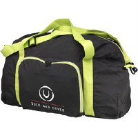 Duck and Cover Mens Pack Away Holdall Black