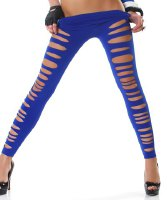 Solid Color Hollow Out High Elasticity Slimming Stylish Women's Leggings