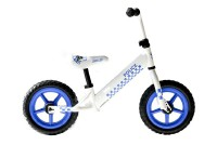 KCP 12 Zoll Laufrad Unisex Kinderrad POLICE WHITE