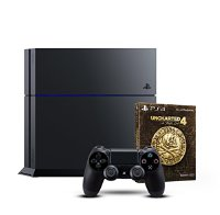 Sony PlayStation 4 - Konsole (500GB) + Uncharted 4 - Special Edition