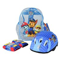 Paw Patrol OPAW004 - Protection Set, Helmet, Knee padselbow Pads, PVC transparent Bag (OPAW004)