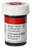 Wilton EU Icing Color weihnachtsrot, 1er Pack (1 x 28 g) (610-313)