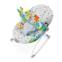 Bright Starts , vibrierende Babywippe, Monkey Business (11188)