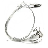 Practical Fishing Tackle Fishing Wire Bunch Hook