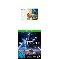 Microsoft Xbox One S 500GB Konsole - Assassin's Creed Origins Bundle + Star Wars Battlefront II