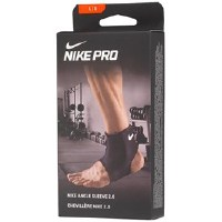 Nike Herren Pro Ankle 2. Compression Support Muskel Support Black/White