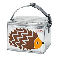 3 Sprouts ULBHED Lunch Bag Igel, mehrfarbig (ULBHDG)