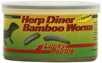 Lucky Reptile Herp Diner Bamboo Worms 35 g, 1er Pack (1 x 35 g) (FLC031)