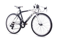 KCP 24 Zoll Rennrad Jugendrad KCP RUNNY 14G weiss schwarz 2017