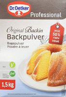 Dr. Oetker Professional Backpulver Original Backin, 1er Pack (1 x 1,5 kg) (1-39-250102)