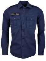 Biaggio Jeans Cylor Hemd Navy