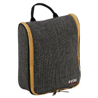 4YOU 4 You Travel Collection Washbag 28 cm - grey/yellow