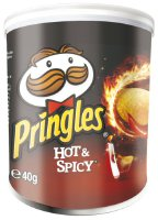 Pringles Hot and Spicy, 12er Pack (12 x 40 g) (7000013000)
