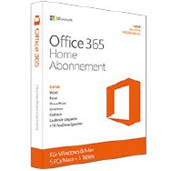 Microsoft Office 365 Home dt. Win/Mac (1U/5PC/1J)
