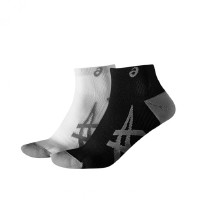 ASICS 2PPK Lightweight Socks Real White