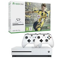Xbox One S 500GB Konsole - FIFA 17 Bundle + 2. Controller