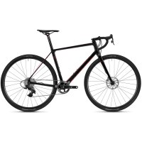 Ghost VIOLENT ROAD RAGE 9.8 UC - Carbon Cyclocross Bike - 2019 - night black/riot red - L