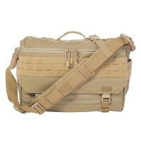 5.11 Tactical 5.11 Rush Delivery Messenger Bag Schultertasche - 328 Sandstone (511-56177-328)