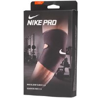 Nike Herren Pro Elbow 2. Compression Support Muskel Support Black/White