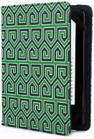 Verso Jonathan Adler Greek Key Hülle für Kindle, Kindle Paperwhite und Kindle Touch, Green (VR170-009-23)