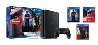 Sony PlayStation 4 - Konsole (1TB, schwarz,slim) inkl. Uncharted 4 + Driveclub + The Last of Us (9807162)