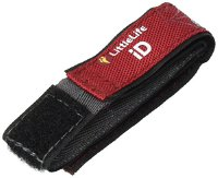 Relags Kinder Littlelife Safety Id Armband, Rot, One Size (145207)
