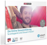 Lexware Smartsteuer 2016 (Code in a Box) (FFP) Win/Mac/Linux/Tablets