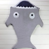 Creative Thicken Shark Blanket by Blankie Tails Sleeping Bag For Kids
