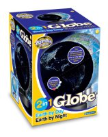 Brainstorm [UK-Import] 2 in 1 Globe Earth by Day Earth by Night E2020 (E2020)