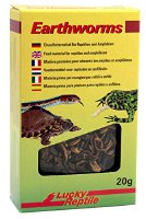 Lucky Reptile Earthworms 20 g, 2er Pack (2 x 20 g) (EF-20)