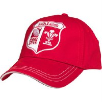 Canterbury Of New Zealand Unisex Rugby World Cup WRU Wales Mütze Rot