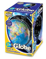 Brainstorm 2 in 1 Earth and Constellation Globe (E2001)