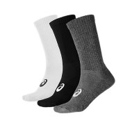 ASICS 3PPK Crew Sock White Grey Black