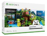 Microsoft Xbox One S 1TB Konsole + Minecraft incl. Explorer's Pack&Complete Adventure (234-00514)