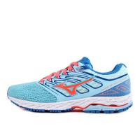 Mizuno Wave Shadow W Blue Topaz Fiery Coral