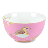PIP STUDIO PiP Porzellan Müslischale Early Bird 15 cm Pink