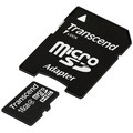 Transcend microSDHC Class 4, 16GB + SD-Adapter fuer Acer Aspire Switch 10 V, Iconia One 10 (B3-A20B), Iconia Tab A101, Iconia Tab A200, Iconia Tab A210, Iconia Tab A500, Iconia Tab A511, Iconia Tab A701, Iconia Tab W500, Iconia Tab W501P, Iconia Tab W511P,